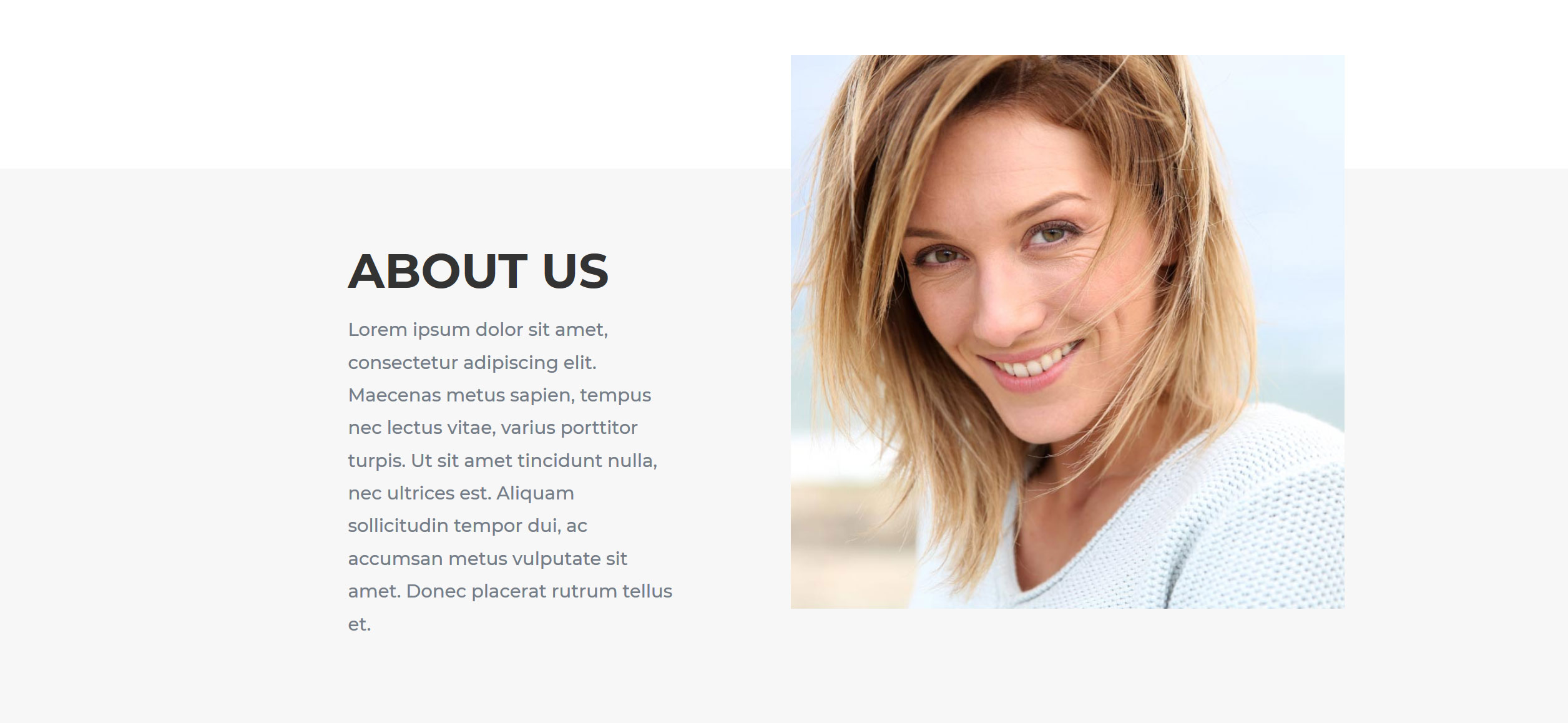 Website for Hairdressers v1 - About Info
