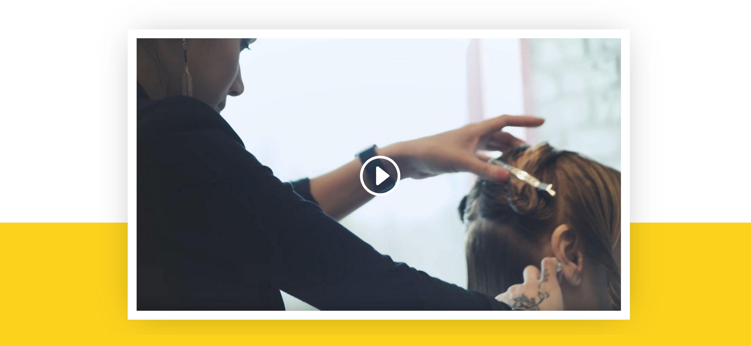 Website for Hairdressers v1 - Video