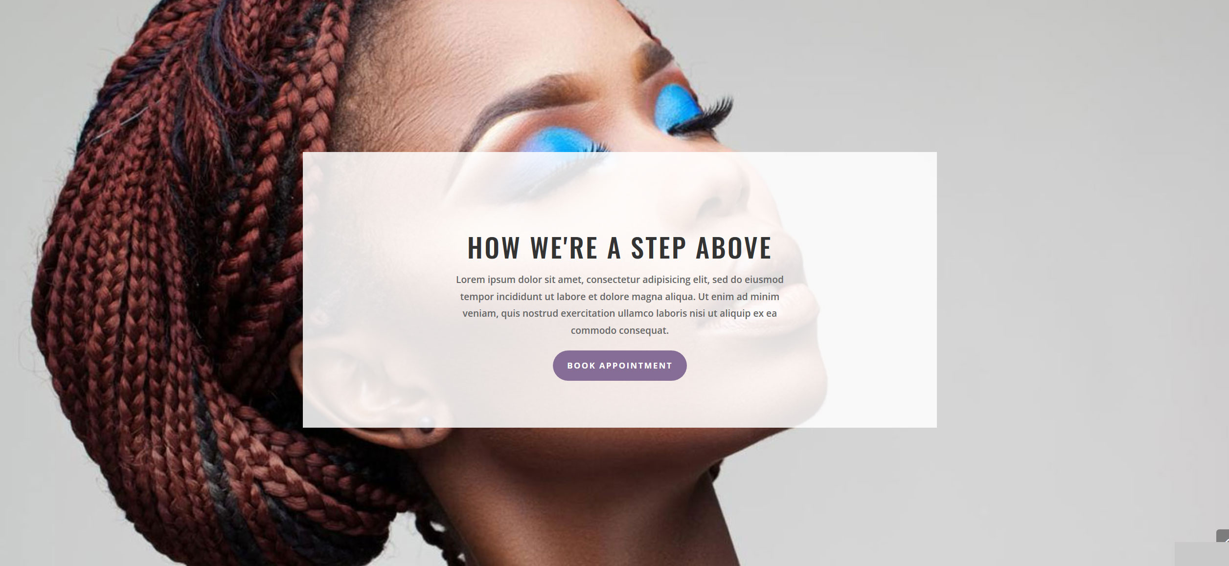 Website for Hair Braiding v1 - How We're Different